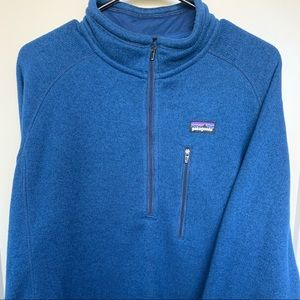 Patagonia Men's Better Sweater - Large - Blue